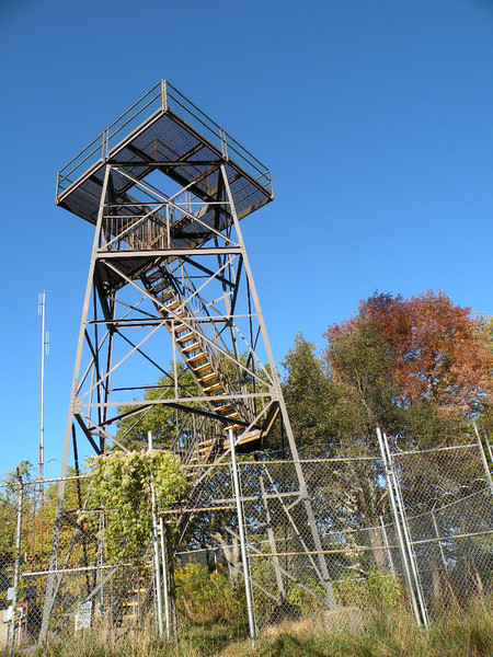 Frozen Head Fire Tower It has been replaced by an observation platform. It provides a 360* view of the area. Camping is permitted at the tower site, but the nearest water far as I know is 1/2 mile away back down at Tub Springs. 10/7/2011
